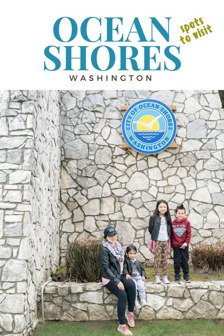 Spots and stores to visit at Ocean Shores, Washington