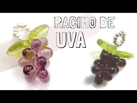 Como hacer un Racimo de uva con Gotas de Bohemia - Tutorial DIY - YouTube