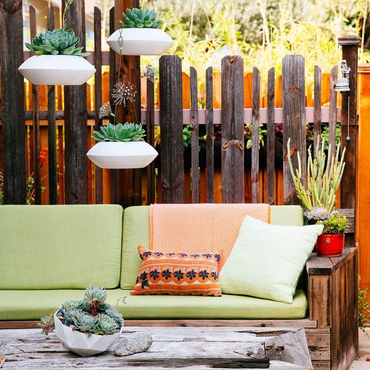 Garten Lounge Selbst Gestalten   Das Grüne Wohnzimmer Im Eigenen Garten    Balkon, DIY, Garten, Haus U0026 Garten, Möbel, Terrassen, Veranda
