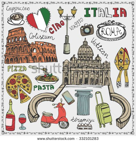 ILLUSTRATION VESPA ITALY - Buscar con Google