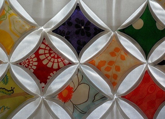 Most sensible, easy to follow tutorial I saw in Pinterest for the Cathedral Window Quilt. I learned how decades ago from a very dear, elderly kindred spirit whom I will adore always. (Love you, Arie!!!)