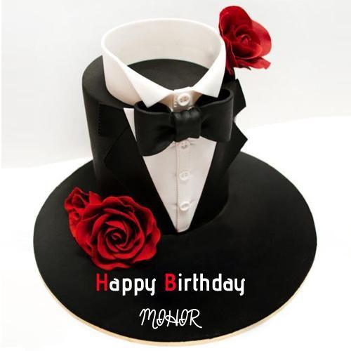 Write Name on Happy Birthday Handsome Boy Cake