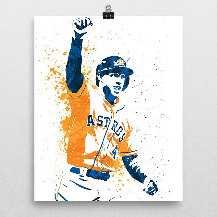 George Springer Houston Astros Poster
