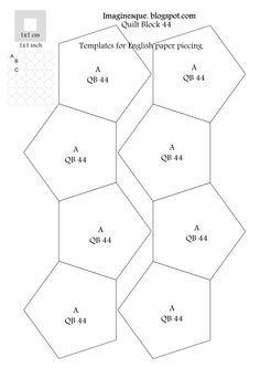 millefiori quilt pattern - Google Search