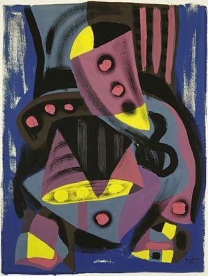 Paul-Emile Borduas. Follow the biggest painting board on Pinterest: www.pinterest.com/atelierbeauvoir