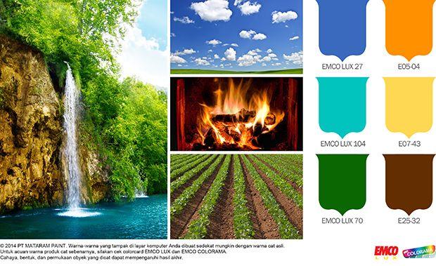 Mengenal Warna Natural #Inspirasi #Warna http://matarampaint.com/detailNews.php?n=267