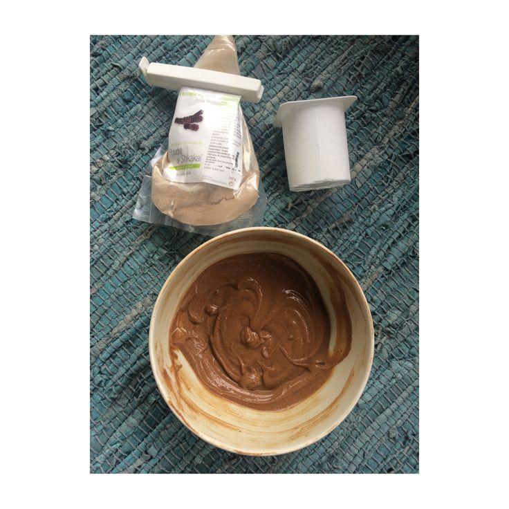 Recette de shampoing shikakai + yaourt pour protéger et hydrater