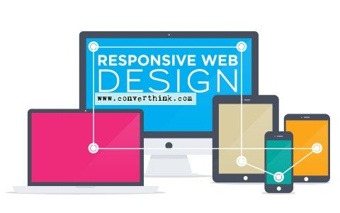 Responsive web design is the privileged of the web design community right now, and with good reason. It allows publishers to be cross-platform without sacrificing content or redesigning from the ground up every time a new device comes out. #Responsive #web #design #converthink