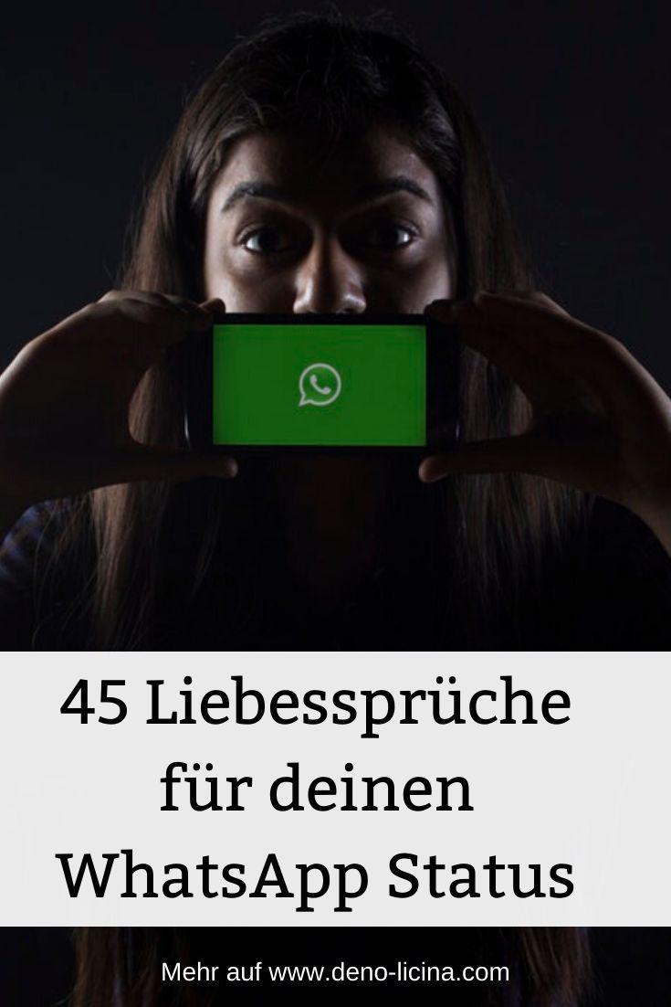 45 Liebesspruche Fur Deinen Whatsapp Status In 2020 Whatsapp Status Spruche Whatsapp Status Spruche Liebe Status Spruche Liebe