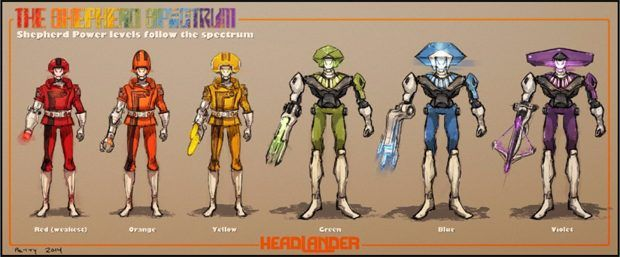 Clickuorice Allsorts: How Headlander's look works