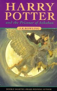 U.K. cover art work for the Harry Potter and the Prisoner of Azkaban book