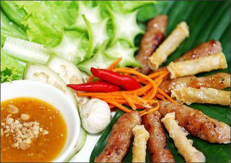 Cách làm nem nướng Nha Trang - Công thức nấu ăn - Ẩm thực - Nội trợ - Wiki Phụ nữ - WikiViet.vn
