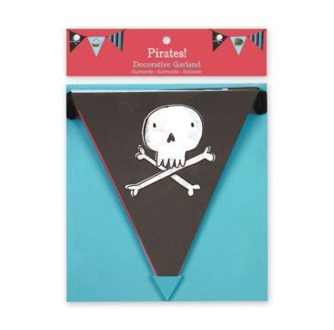 Garland Pirates - Bobangles #Mudpuppy #Galison #garland #pirate #kids