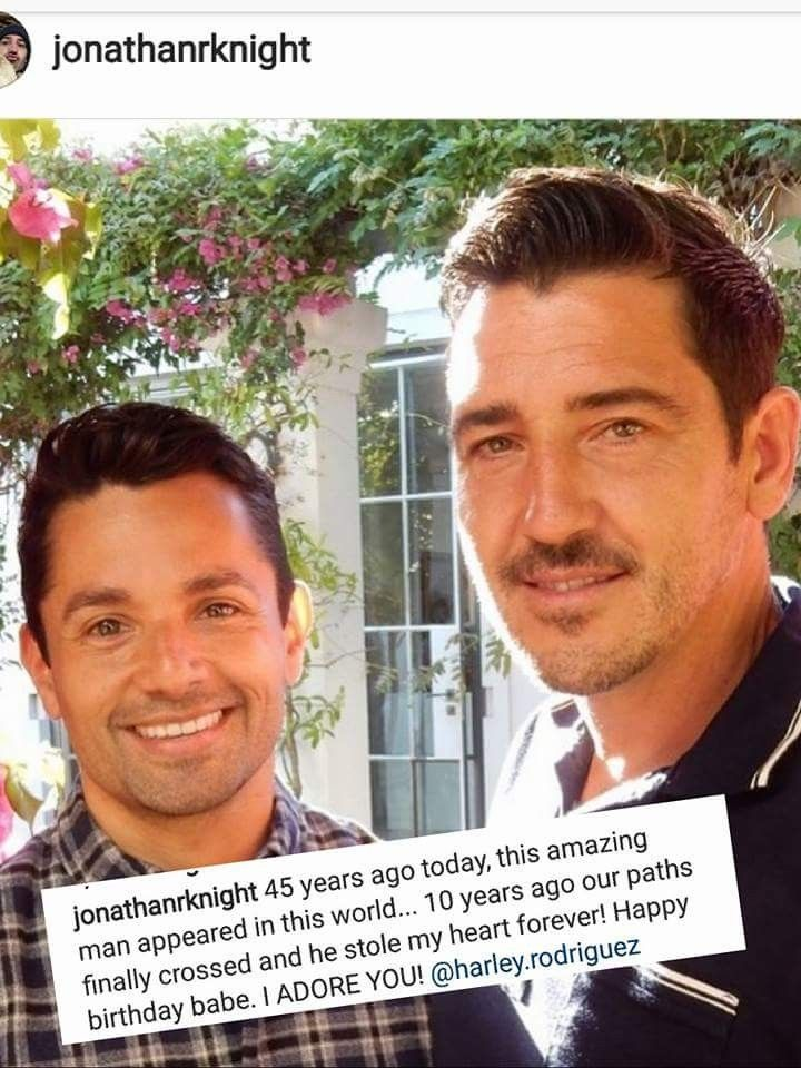 Happy Birthday Harley Rodriguez Jonathan Knight