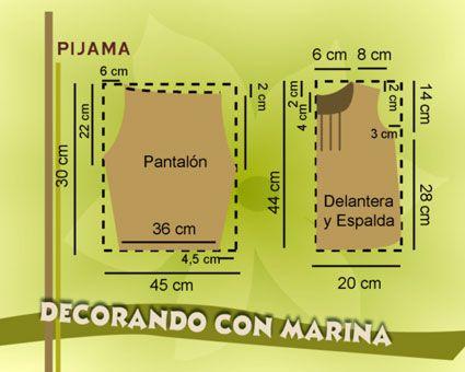 Patrón De Pijama en Pinterest | Patrón De Camisón y Patrones De ...