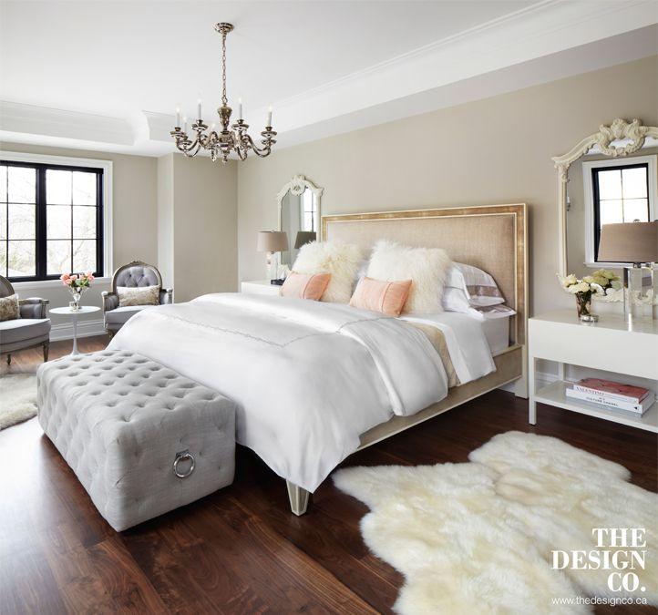 Best Master Bedroom Parisian Chic Sheepskin Rugs Tufted 400 x 300