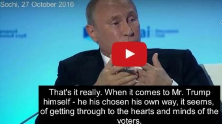 Putin Went On Live TV, Exposed Everything Obama And Hillary Say Is a Dir...
