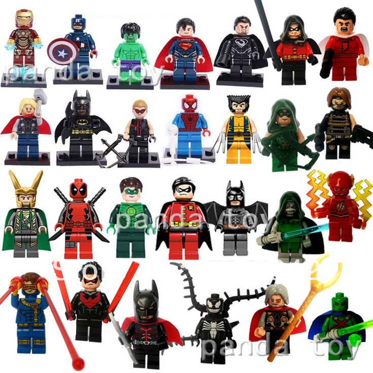 Marvel Super Hero Figures 27pcs/lot The Avengers Fantastic ...
