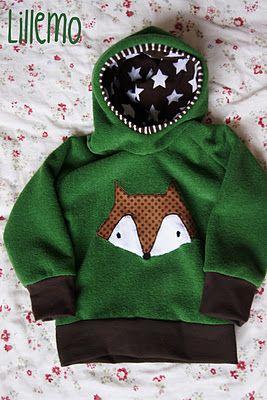 lillemo:  pullover hoodie hoody fuchs fox