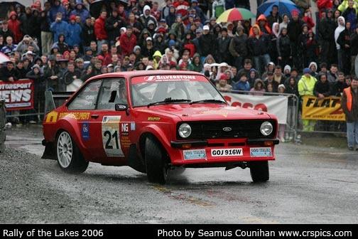 mk 2 ford escort rally car