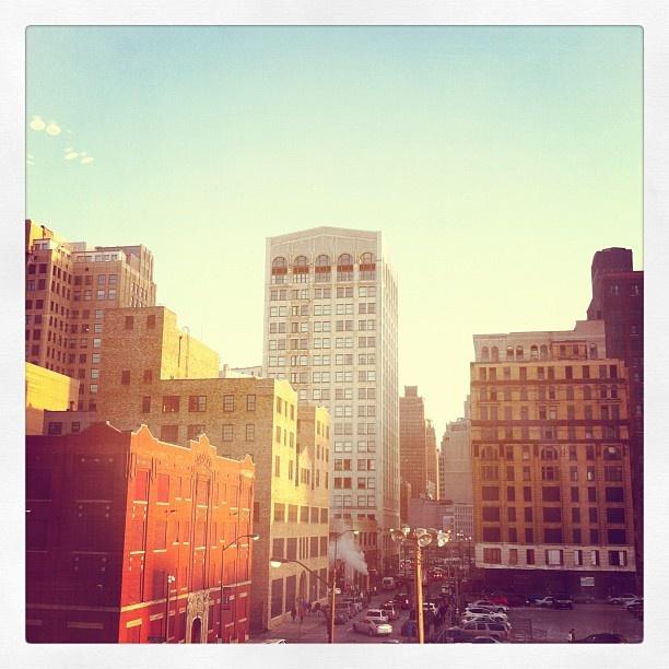 :): Sunsets, Wandering, Posts, Detroit
