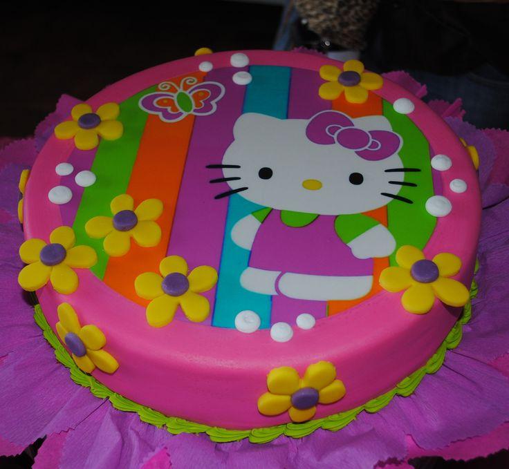 Hello Kittie Cake