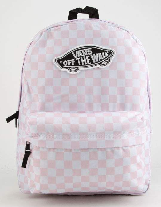 1712418a16 VANS Realm Checkerboard Backpack  fashionbackpacksnz