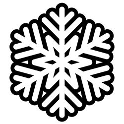 Snowflake Coloring Page 14