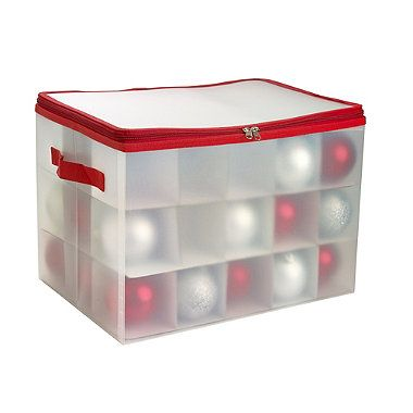 Christmas Ornaments Storage Box - from Lakeland
