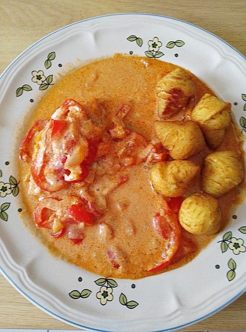 Paprika-Sahne-Hähnchen (Rezept mit Bild) von Sister | Chefkoch.de