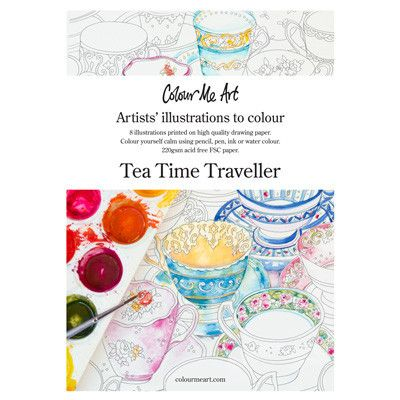 40 best bits of australia easter gift ideas images on pinterest australian made gifts souvenirs with the tea time traveller colouring in pack by colourmeart negle Choice Image