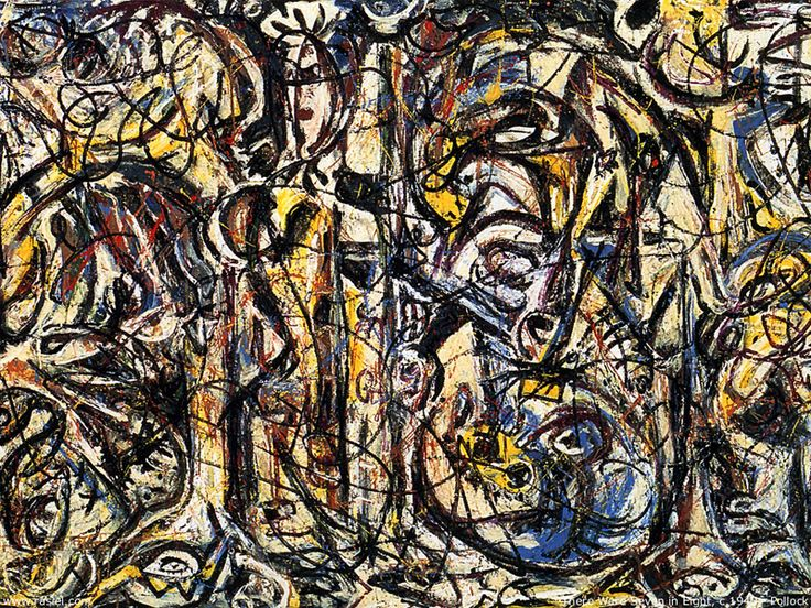 Most Famous Abstract Paintings Famous Abstract Art: 168 Best Jackson Pollock Images On Pinterest