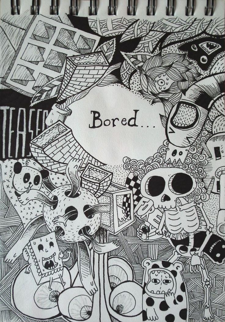 boredom makes its