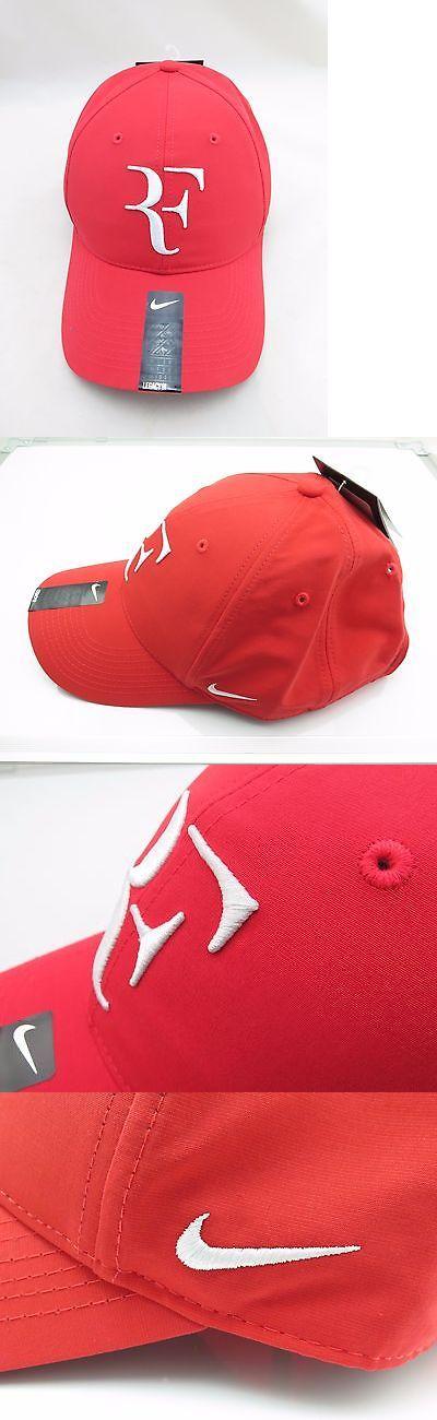 Hats and Headwear 159160: New Nike Rf Roger Federer Hat Cap 371202-696 Light Crimso -> BUY IT NOW ONLY: $50 on eBay!