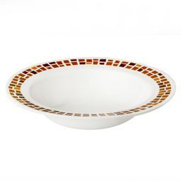 Boutique™ Precious Colors 28-oz Wide Rimmed Bowl, Amber Copper