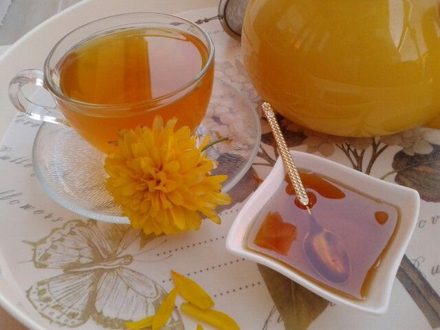 Yellow tea.