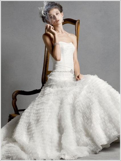 Robe de Mariée de la créatrice Viola Chan pour Galina Signature