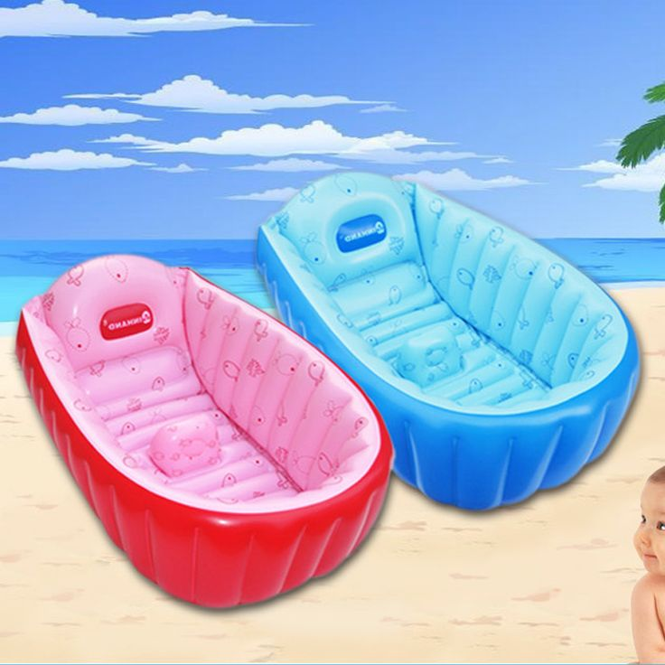 Home Use Baby  Inflatable Swimming Water Pool PVC Square Swim Bathing Seats Stand Piscina Bebe Zwembad Blue and Pink Color