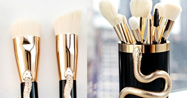 Sonia Kashuk Serpent Makeup Brushes Review: What You Need to Know http://www.glamour.com/story/sonia-kashuk-serpent-makeup-brush-set-review