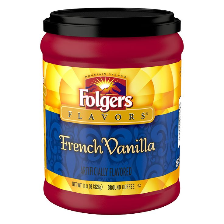 French Vanilla Coffee – Folgers Coffee
