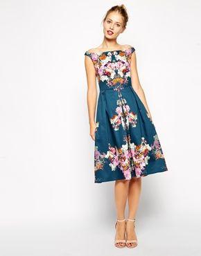 ASOS Vintage Midi Bardot Dress €121.43 - NOW €72.86