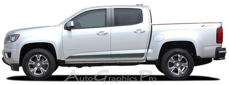 Best Chevy Colorado Vinyl Graphics Stripes Decal - Chevy decals for trucksmore decalchevrolet silverado rally edition unveiled