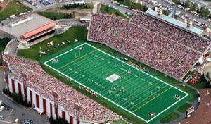 McMahon Stadium, Calgary,Alberta Home of the CFL  Calgary Stampeders.