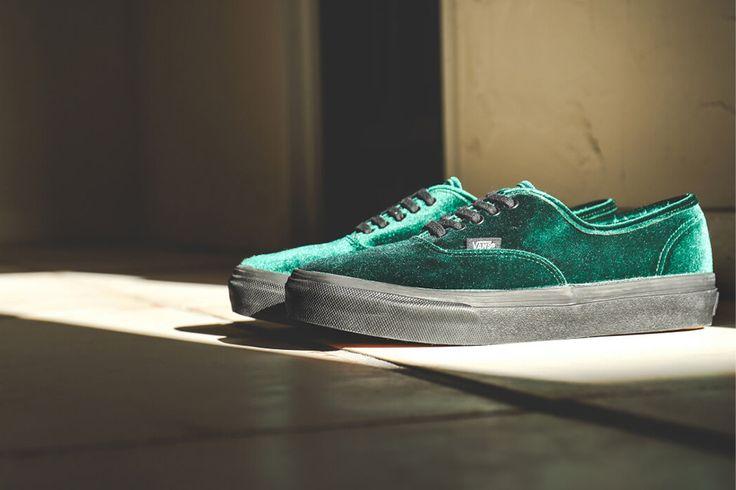 Vans Authentic 'Green Velvet' - EU Kicks: Sneaker Magazine