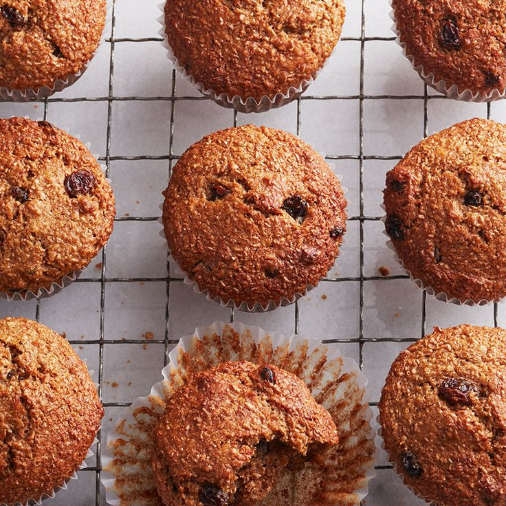 Ready in just 35 minutes and packed with fibre these raisin bran muffins are a great way to start your morning. Try them today.