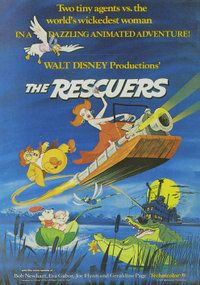 The Rescuers is a 1977 American animated film produced by Walt Disney Productions and first released on June 22, 1977 by Buena Vista Distribution. The 23rd film in the Walt Disney Animated Classics series, the film is about the Rescue Aid Society, an international mouse organization headquartered in New York and shadowing the United Nations, dedicated to helping abduction victims around the world at large.