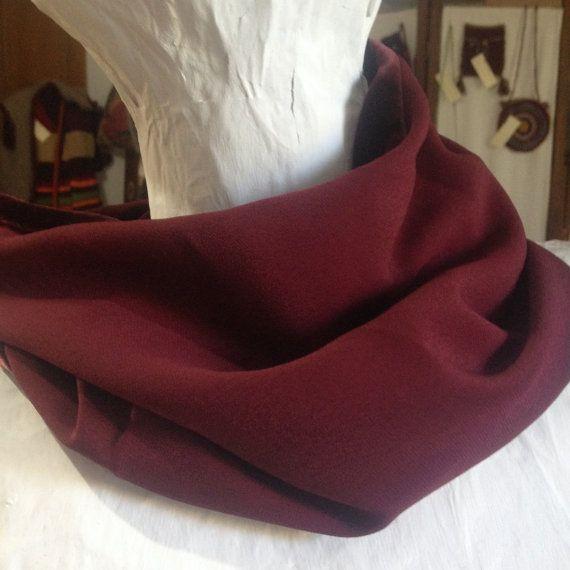 Neckwarmer cowl scarf Velvet double sided cowl by PixiesFairies