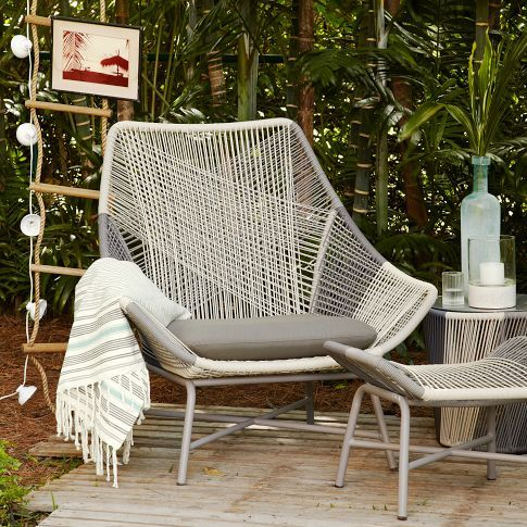 Huron Large Lounge Chair   Cushion. Best 25  Outdoor lounge furniture ideas on Pinterest