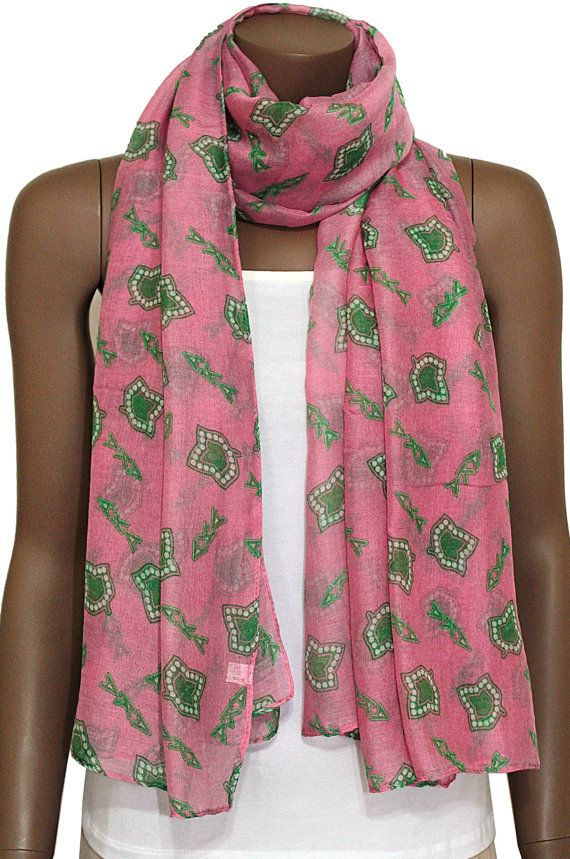 Hey, I found this really awesome Etsy listing at http://www.etsy.com/listing/163796316/pink-ivy-scarf