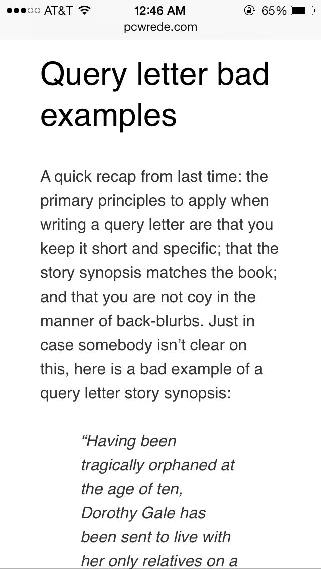 116 best writing--queries and synopses images on Pinterest - query letter example